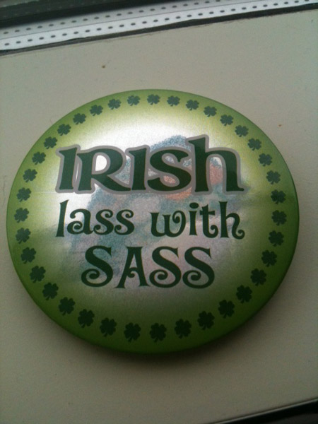 Irish Lass with Sass button