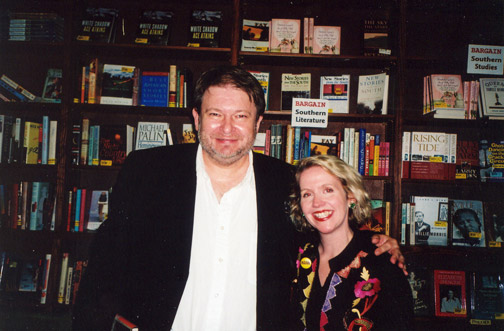 Rick Bragg and Lauretta Hannon