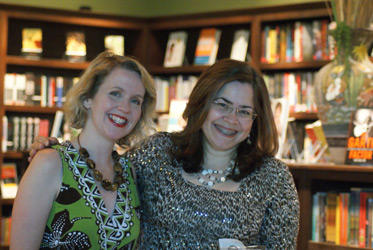 Lauretta Hannon and Ana Raquel of FoxTale Book Shoppe