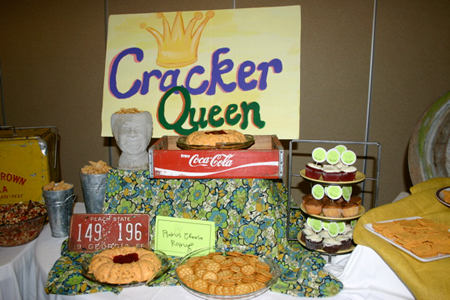 Cracker Queen spread at the Jefferson Public Library