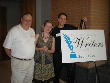 Marty Aftewicz and George Weinstein of the Atlanta Writers Club