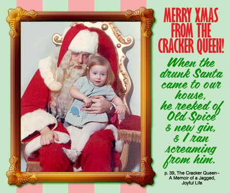 Merry Xmas from the Cracker Queen