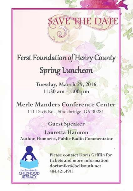 Ferst Foundation of Henry County Spring Luncheon