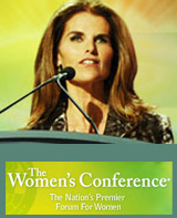 Maria Shriver image from The Women's Conference Website