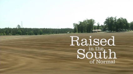 Raised in the South of Normal Landscape Poster